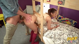 Dorm square footage dicking for delightful youngster Sybil Kailena