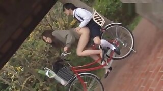 Step Mother and Step Lassie Having Coitus in the Road